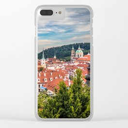Prague from Petrin Hill Clear iPhone Case