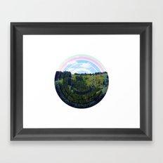 Busy Landing Framed Art Print
