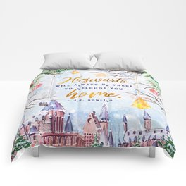 Hogwarts will always Comforters