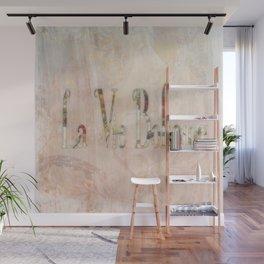 La Vie Boheme Wall Mural