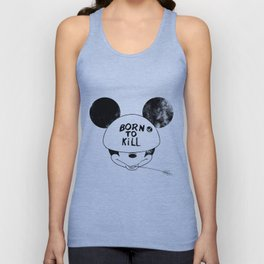 Born to Kill (colorless) Unisex Tank Top