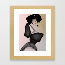 Girl1 Framed Art Print