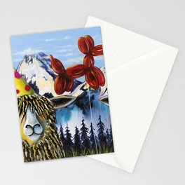 AUNT PATSY PARTY BALLOON SHEEP Stationery Cards