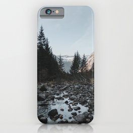 The Way Back | Nature and Landscape Photography iPhone Case