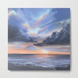 Lauderdale-by-the-Sea Sunrise Metal Print