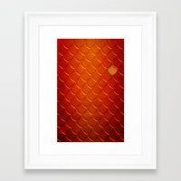 smaug Framed Art Prints featuring Smaug by sevillaseas