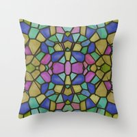 glass Throw Pillows featuring Glass by Fine2art