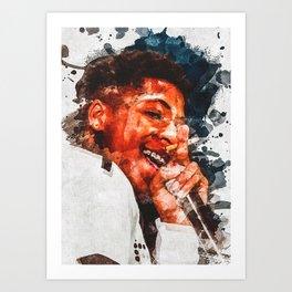 Youngboy Never Broke Again Art Print