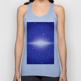 Abstract lights Unisex Tank Top