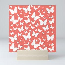 Butterflies in Flight Mini Art Print