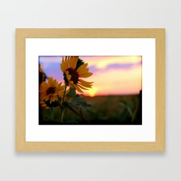And The Sun Will Shine Framed Art Print
