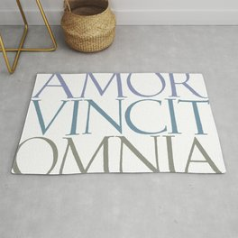 Amor Vincit Omnia - Love Conquers All Things Rug