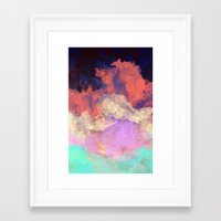 sun Framed Art Prints featuring Into The Sun by Galaxy Eyes