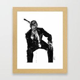 Zombie Bespoke (Without Copy) Framed Art Print