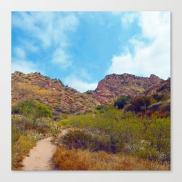 Rugged Trail Canvas Print