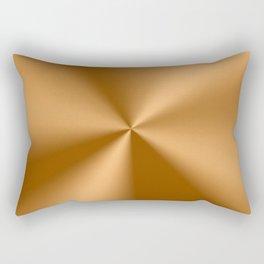 Copper Tones Stainless Steel Print Rectangular Pillow