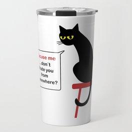 Hatful Cat Travel Mug