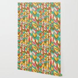 Knitted Pattern Wallpaper