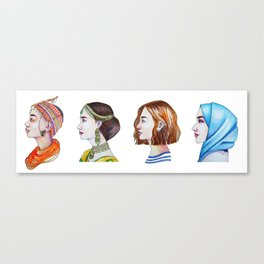 Women for the world Canvas Print