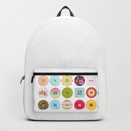 Buttons Backpacks | Society6