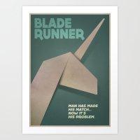Blade runner alternative poster Art Print
