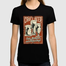 Craft Beer Cold Delicious And Refreshing T-shirt