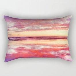 Purple silk Rectangular Pillow