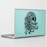 carpe Laptop & iPad Skins featuring Carpe Noctem (Seize the Night) by Rachel Caldwell