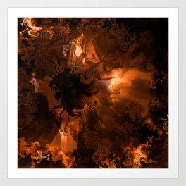 Ravaged Visions Art Print