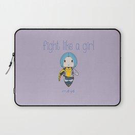 Fight Like a Girl | Maya - Borderlands Laptop Sleeve