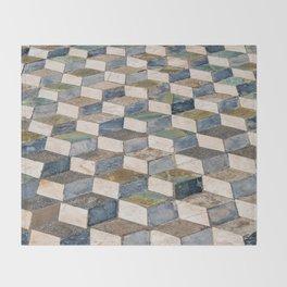 Pompeii Floor Throw Blanket