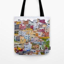 Edificios Colores Las Palmas Tote Bag