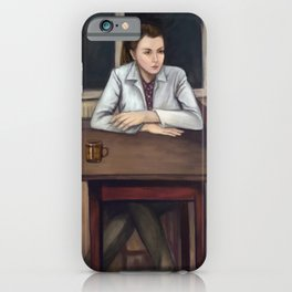 BBC Sherlock - Cafeteria Scene iPhone Case