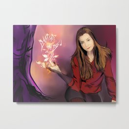 Willow Rosenberg Metal Print