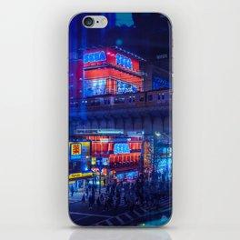 Tokyo Nights / Anime Town / Liam Wong iPhone Skin