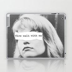 Fire Walk With Me Laptop & iPad Skin