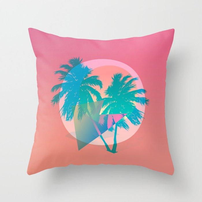MIAMI Throw Pillow