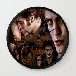 Eclipse Tribute by Martoni (Pattinson, Stewart, Lautner) Wall Clock