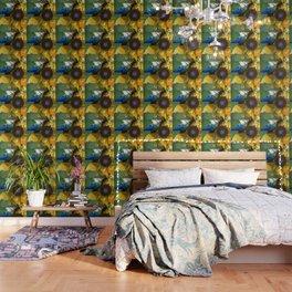 Modern Flower Art - Untamed Beauty - Sharon Cummings Wallpaper