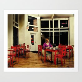 In the Style of...Edward Hopper Art Print
