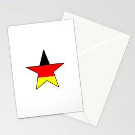 Flag of Germany 4 Stationery Cards