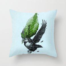 The Messenger Throw Pillow