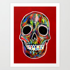 Celebrat The Life. Art Print