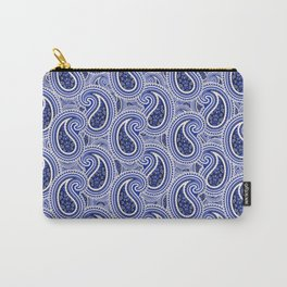 KyellBlue2...RainingPaisleys Carry-All Pouch