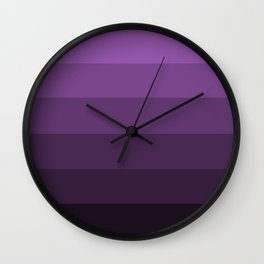 Deep Lavender Dream - Color Therapy Wall Clock