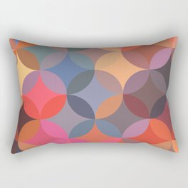Moroccan pattern multicolor Rectangular Pillow
