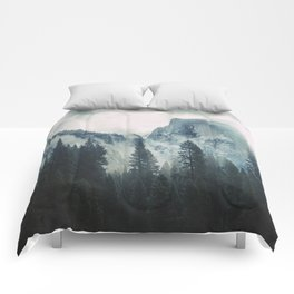 Cross Mountains II Comforters