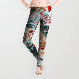 Summer Botanical Garden XIII Leggings