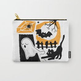 Beware of the Cat on Halloween Carry-All Pouch