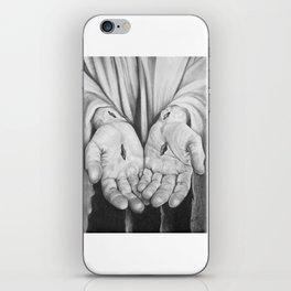 Jesus Hands iPhone Skin